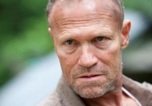Michael Rooker as Merle Dixon on The Walking Dead